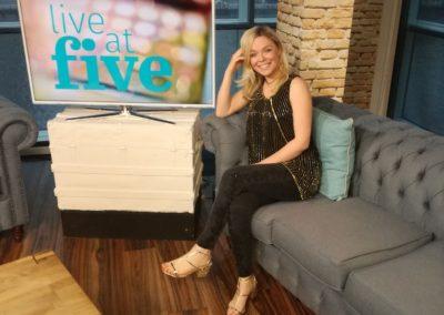Live at five STV Glasgow